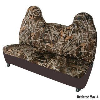 Hatchie Bottom Semi Custom Fit Mid Size Truck Seat Covers Bench Seat w/Headrest 451698