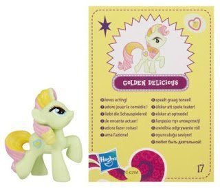 My Little Pony Friendship is Magic 2 Inch PVC Figure Series 4 Golden Delicious Toys & Games