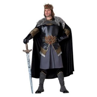 Mens Medieval King  Costume