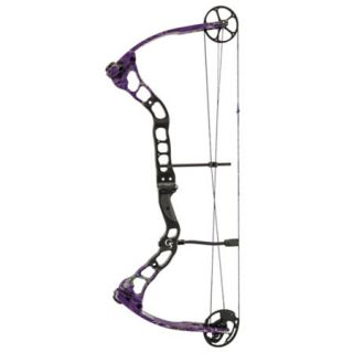Quest Bliss Compound Bow RH 45 lbs. G Fade Realtree AP Purple 780079
