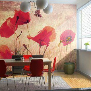 Vlies Tapete  Top  Fototapete  Wandbilder XXL  350x270 cm   Blumen 10040906 12 Küche & Haushalt