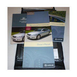 2007 Lexus GS350 GS 350 Owners Manual Lexus Books