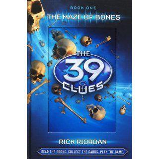 The Maze of Bones (39 Clues, No. 1): Rick Riordan: 9780545060394: Books