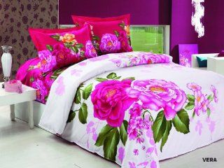 Le Vele   Vera   Duvet Cover Bed in Bag   Full/Queen Bedding Set   LE257Q   Bed In A Bag