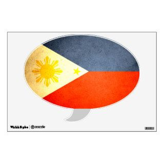 Sun kissed Philippines Flag Wall Skin