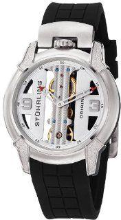 Stuhrling Original Men's 259.33162 Raptor Mechanical Skeleton Watch Watches