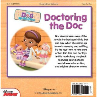 Doc McStuffins Read Along Storybook and CD Doctoring the Doc: Disney Book Group, Lisa Ann Marsoli, Disney Storybook Art Team: 9781423171348:  Kids' Books