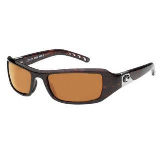 Costa Del Mar Santa Rosa Sunglasses   Tortoise Frame/Amber 400P Lens 412128