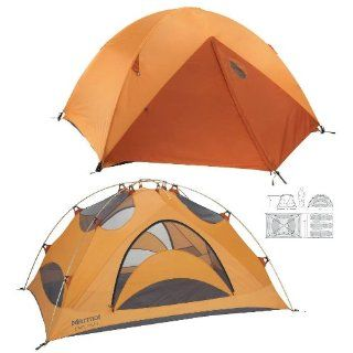 Marmot Limelight 3P Tent with Footprint   3 person Tents 000 Pale Pumpkin/Te : Sports & Outdoors
