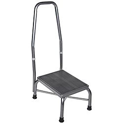 Drive Steel Handrail And Non skid Rubber Platform Footstool
