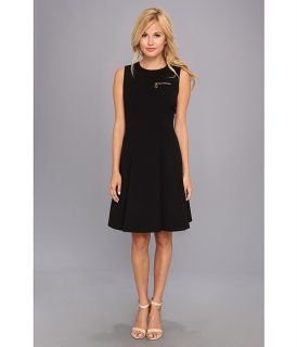 Calvin Klein Aline Sheath Dress Black