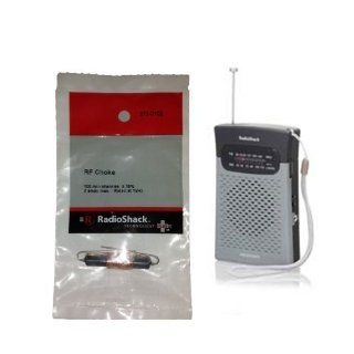 RF Choke 273 102 and AM/FM Pocket Radio Kit, for Underground Fence Repair by Radio Shack  Wireless Pet Fence Products