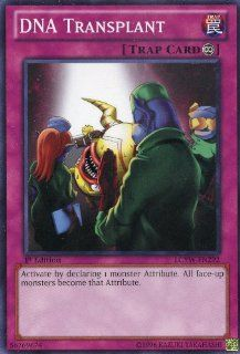 Yu Gi Oh   DNA Transplant (LCYW EN292)   Legendary Collection 3 Yugi's World   1st Edition   Common Toys & Games