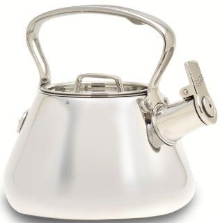 All Clad Stainless Steel 2 Quart Whistling Tea Kettle: Teakettles: Kitchen & Dining