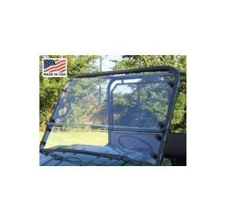 GCL Kawasaki Mule 3000/3010 Full Windshield. Clear. Quick Connect. KAW301 LXN CLEAR: Automotive