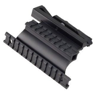 Saiga 12 20 410 223 7.62x39 308 Rifle Quick Detachable Double Rail Side Mount : Airsoft Gun Scope Mounts : Sports & Outdoors