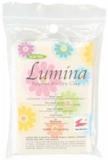 Lumina Polymer Air Dry Clay 5.29oz   Translucent Arts, Crafts & Sewing