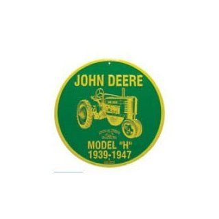 "John Deere Model ""H"" 1939 1947 Sign   Decorative Signs"
