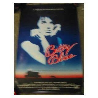 BETTY BLUE / ORIGINAL U.S. ONE SHEET MOVIE POSTER (BEATRICE DALLE) BEATRICE DALLE Entertainment Collectibles