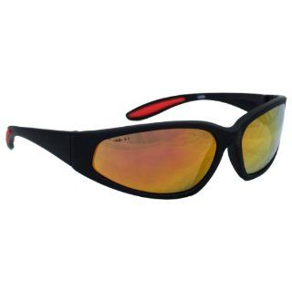 Jackson Safety 19858 Smith & Wesson Red Mirror Lens Special Safety Eyewear with Black Frame (12 Per Box) Safety Goggles Industrial & Scientific