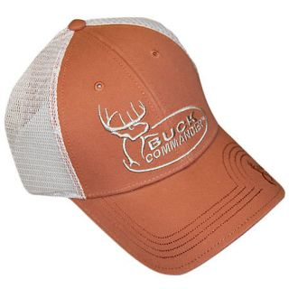 Buck Commander Logo Orange Mesh Cap 431271