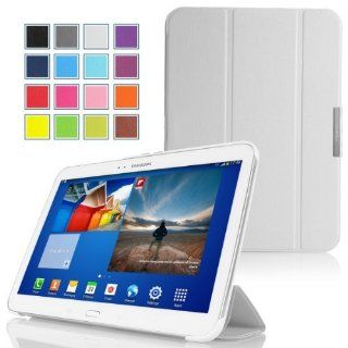 MoKo Ultra Slim Lightweight Smart shell Stand Case for Samsung Galaxy Tab 3 7.0 inch SM T2100 / SM T2110 Android Tablet, WHITE Computers & Accessories