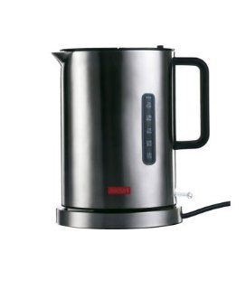 Bodum Ibis 5500 57 Cordless Electric Water Kettle   Stainless Steel   Teakettles
