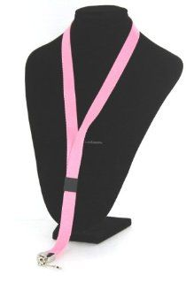 """Guardian 34"""" DELUXE PINK Print Lanyard   Whistle, Stop Watches, Keys or NotePads : Coach And Referee Whistles : Sports & Outdoors"""