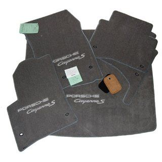 Porsche Cayenne S Grey Floor Mats Set Custom Fit 2004 1/2 2005 2006 2007 2008 2009 2010 Automotive