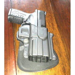 """Fobus Standard Holster RH Paddle SP11 Springfield Armory XD/XDM / HS 2000 9/357/40 5"""" 4"""" / Sig 2022 / H&K P2000  Gun Holsters  Sports & Outdoors"""