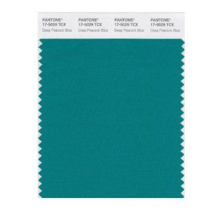 PANTONE SMART 17 5029X Color Swatch Card, Deep Peacock Blue   Wall Decor Stickers
