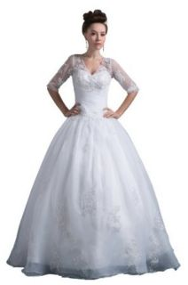 herafa Wedding Dress Elegant NO.w35658 at  Women�s Clothing store:
