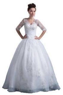 herafa Wedding Dress Elegant NO.w35658 at  Women�s Clothing store: