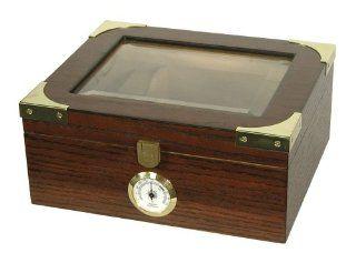 Quality Importers Desktop HUM 25EL Humidor, Capri Elegant   Decorative Boxes