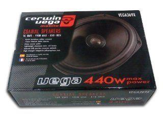CERWIN VEGA VEGA369X 900 Watt 6X9 Coaxial 700W 75W RMS Power Amplifier Musical Instruments