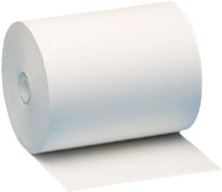 Nashua/RX Technologies Thermal Cash Register Paper, 4.375 Inch x 3.5 Inch x 328 Feet, Standard 48 Gram Thermal, Box of 24 Rolls (8009) : Calculator And Cash Register Paper : Office Products
