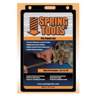 Spring Tools PPM503 4 Pc Medium Pin Punch Assortment   Hand Tool Pin Punches