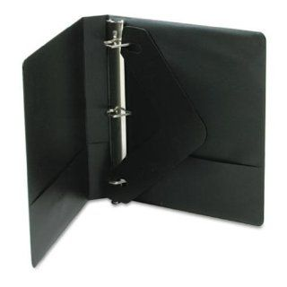 Wilson Jones Basic D Ring Binder with Label Holder and Insert, 1 Inch Capacity, Letter Size, Black (W383 14NHBV)  Office D Ring And Heavy Duty Binders