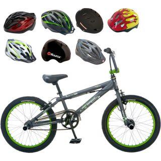 Mongoose 20 Boys BMX Bike & Helmet Value Bundle