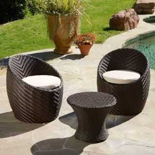 Best Selling La Mesa 3 Piece Chat Set : Outdoor And Patio Furniture Sets : Patio, Lawn & Garden