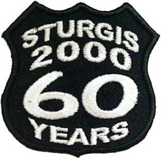 STURGIS BIKE WEEK Rally 2000 60 YEARS Biker Vest Patch!: Everything Else