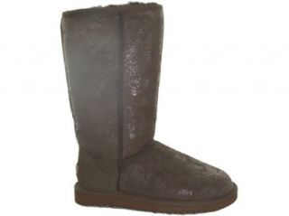Chocolate Baroque TALL Ugg Boots Uggs Size 6 Shoes