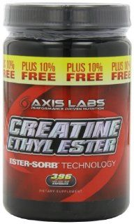 Axis Labs Creatine Ethyl Ester, Capsules, 396 Count Health & Personal Care