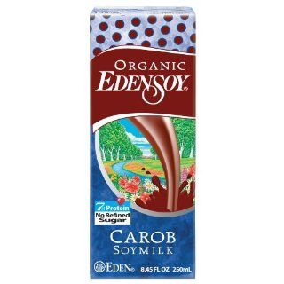 Soymilk Carob 3Pk Organic 25.35 FO (Pack Of 9) : Soy Milk : Grocery & Gourmet Food