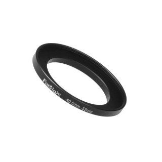 Fotodiox Metal Step Up Ring, Anodized Black Metal 40.5mm 52mm, 40.5 52 mm  Camera Lens Accessories  Camera & Photo