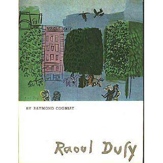Raoul Dufy (The Q.L.P. Art Series) Raymond Cogniat Books