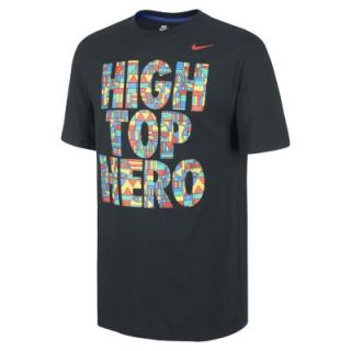 Nike High Top Hero Mens T Shirt   Black