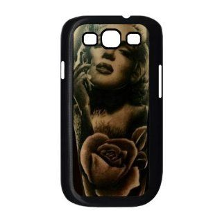 Marilyn Monroe Tattoo Image Samsung Galaxy S3 Case for Samsung Galaxy S3 I9300: Cell Phones & Accessories