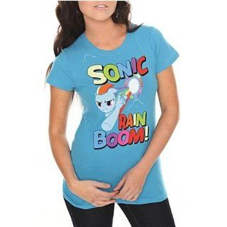 My Little Pony Sonic Rainbow Junior's Tee XL Movie And Tv Fan T Shirts Clothing