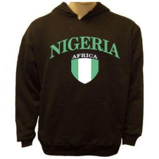 Nigeria Crest Sweatshirt, Nigerian Flag Hoodie Novelty Hoodies Clothing